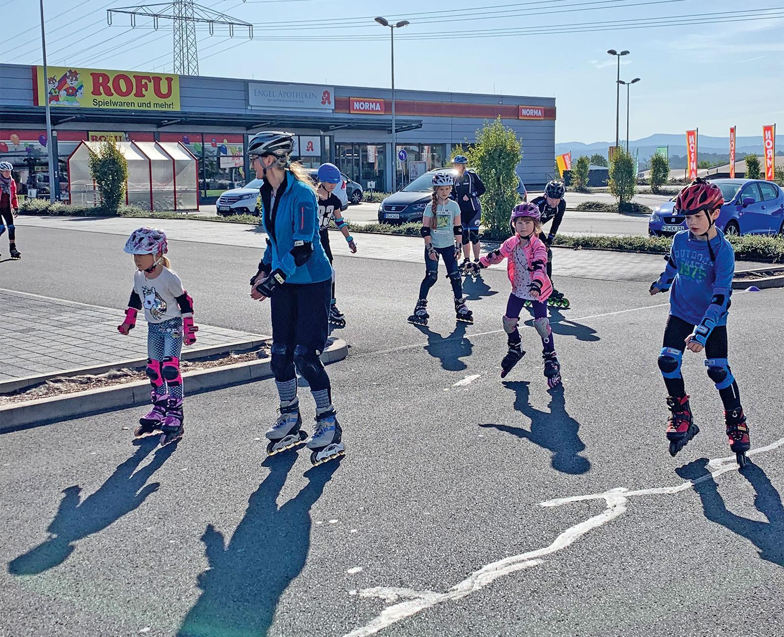 Skaten im Sommer SCR